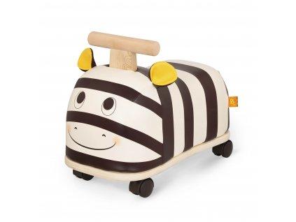 Odrážedlo dřevěné Zebra