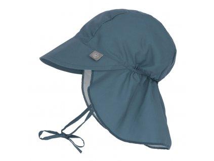 Sun Flap Hat navy 09-12 mo.