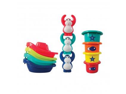 Sada hraček do koupele Opičky