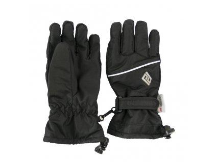 rukavice prstové dětské, Pidilidi, PD0999, černá