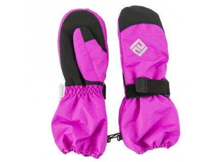rukavice palcové dětské, Pidilidi, PD1000, růžová
