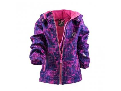 bunda softshellová dívčí s kapucí, Pidilidi, PD1089-03, holka