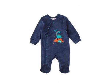 Overal kojenecký sametový, Minoti, Jurassic 5, modrá