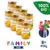 8x SALVEST Family BIO Mango 100% (450 g)