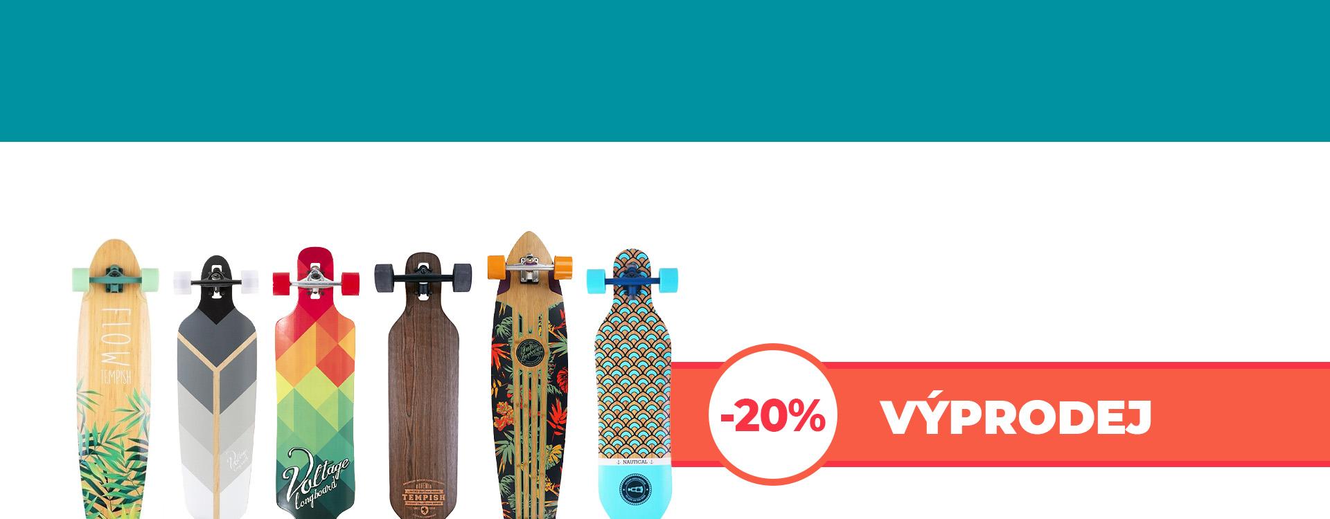 Výprodej podzim 2021 longboard desktop