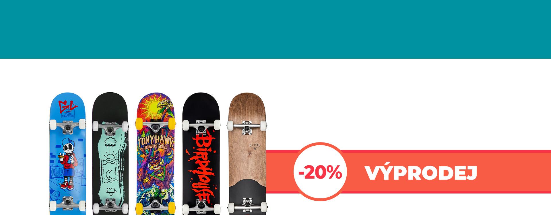 Výprodej podzim 2021 skate desktop