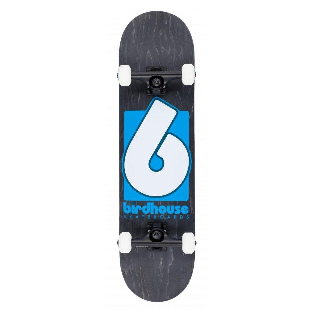 "Birdhouse - Stage 3 B Logo Black/Blue 8"" - skateboard"