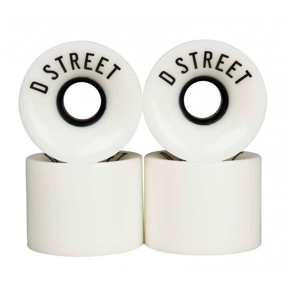 D-Street - 59 Cent 59 x 45 mm 78a White (sada 4 ks)