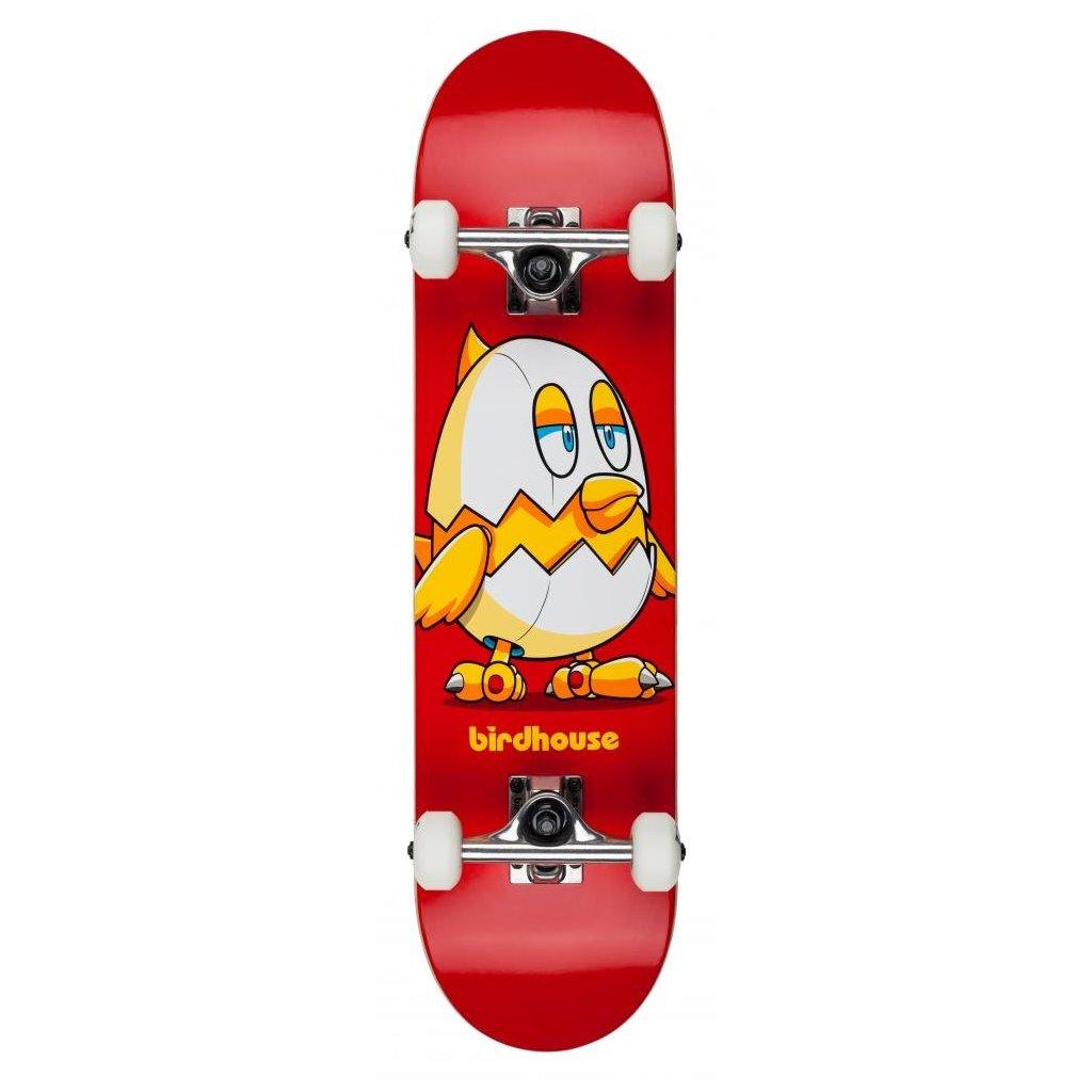 """Birdhouse - Stage 1 Chicken Mini Red 7.38"""" - skateboard"""