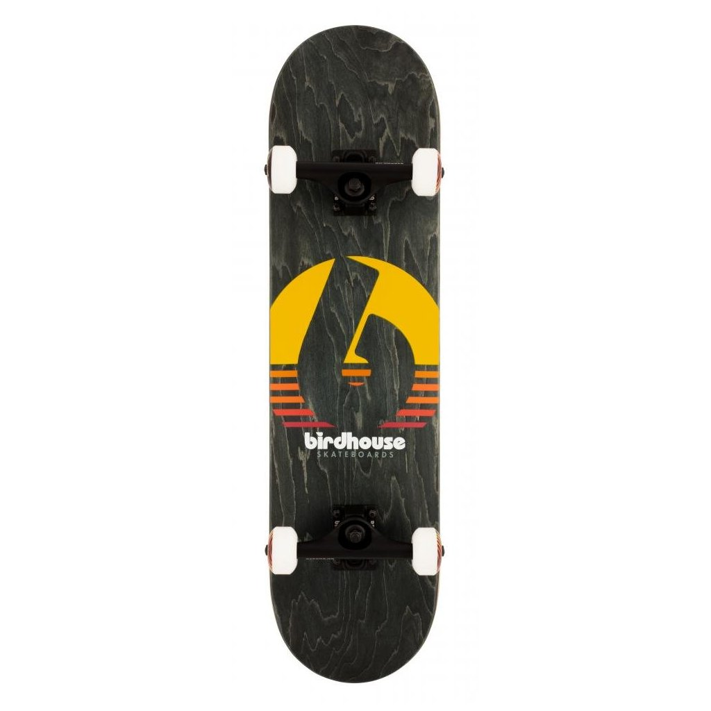 "Birdhouse - Stage 3 Sunset Black 8"" - skateboard"