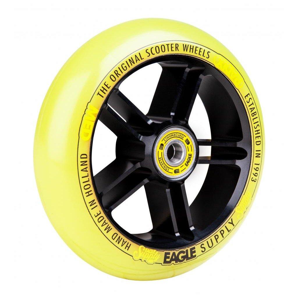 Eagle Supply - Radix 5D 1/L Black/Yellow kolečka (1ks)