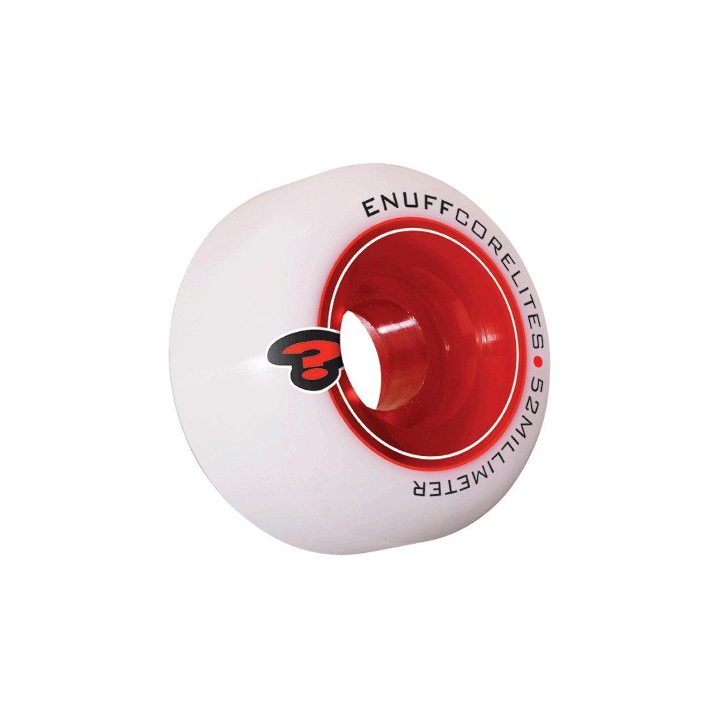 Enuff - Corelites 52 mm - 101a - Red - kolečka (sada 4ks)