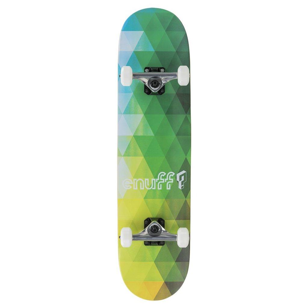"Enuff - Geometric - 7,75"" Green - skateboard"
