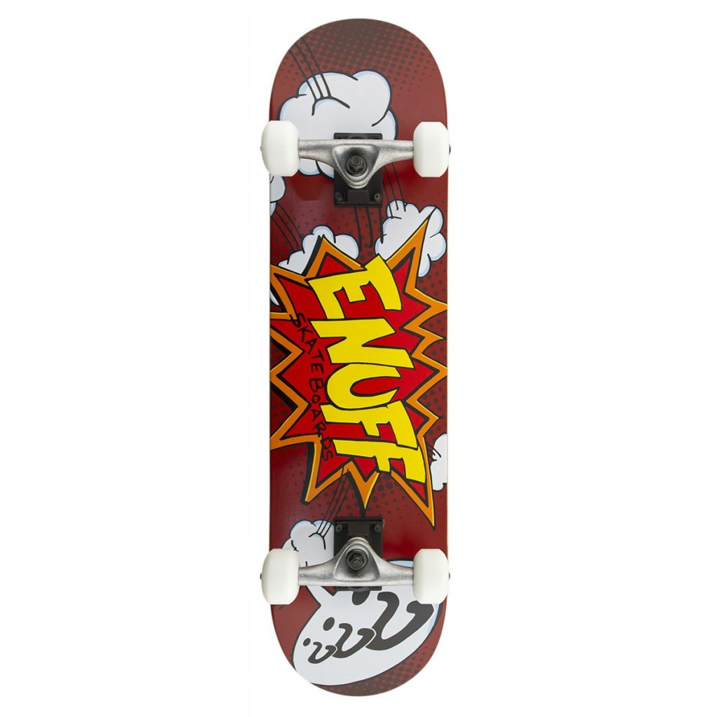 """Enuff - Pow Completes 7,75"""" - Red skateboard"""