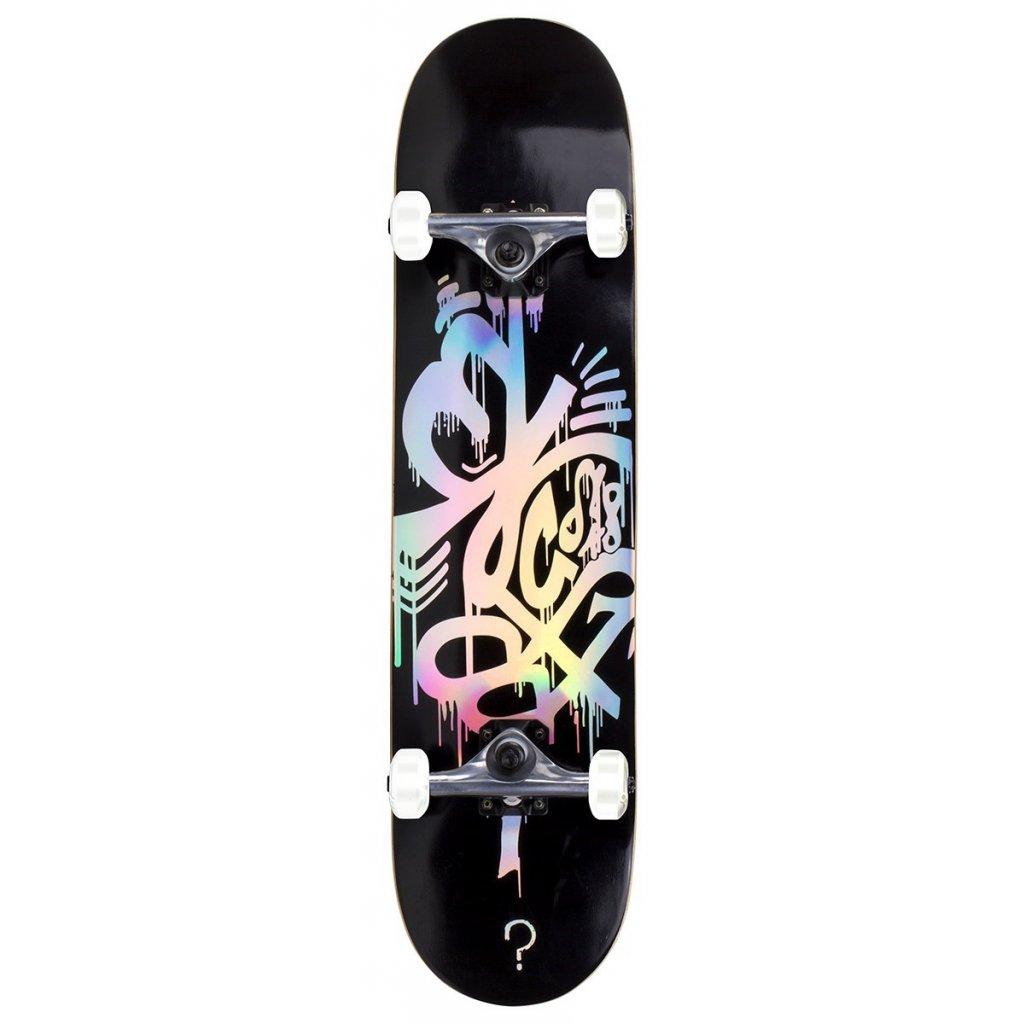 ENU3300 Enuff Skateboards Hologram Complete Black Main