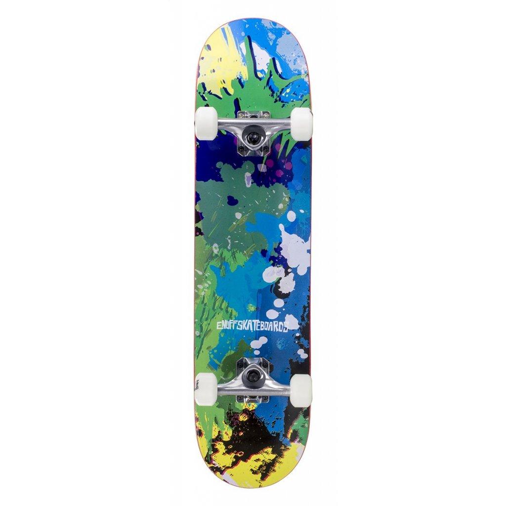"""Enuff - Splat - 7,75"""" - Green/Blue skateboard"""