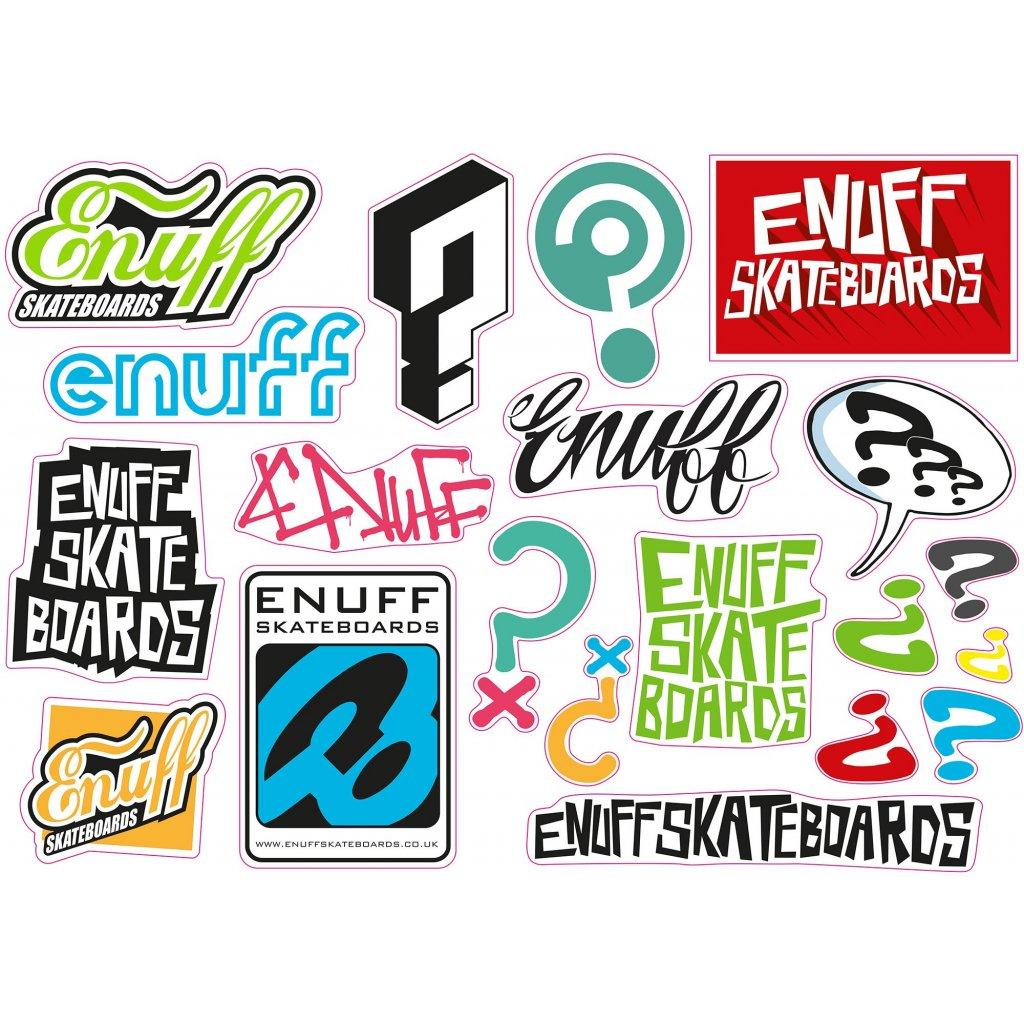 Enuff - Sticker Sheet - Samolepky