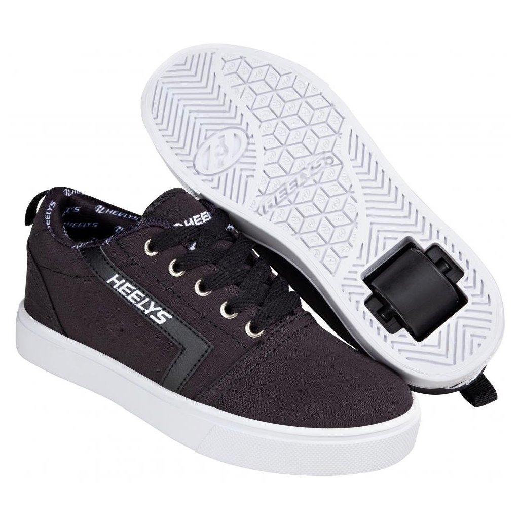 Heelys - GR8 Pro Black/White Rip Stop - koloboty