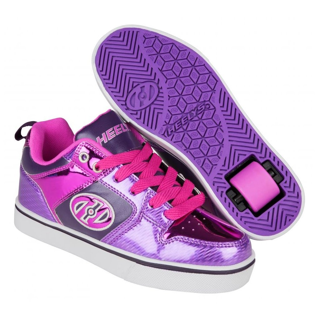 Heelys - Motion Plus Purple/Pink Shimmer/Grape - koloboty