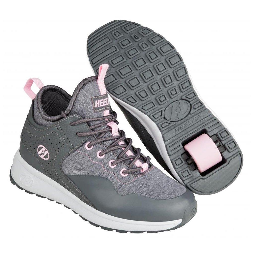 Heelys - Piper Charcoal/Light Pink - koloboty