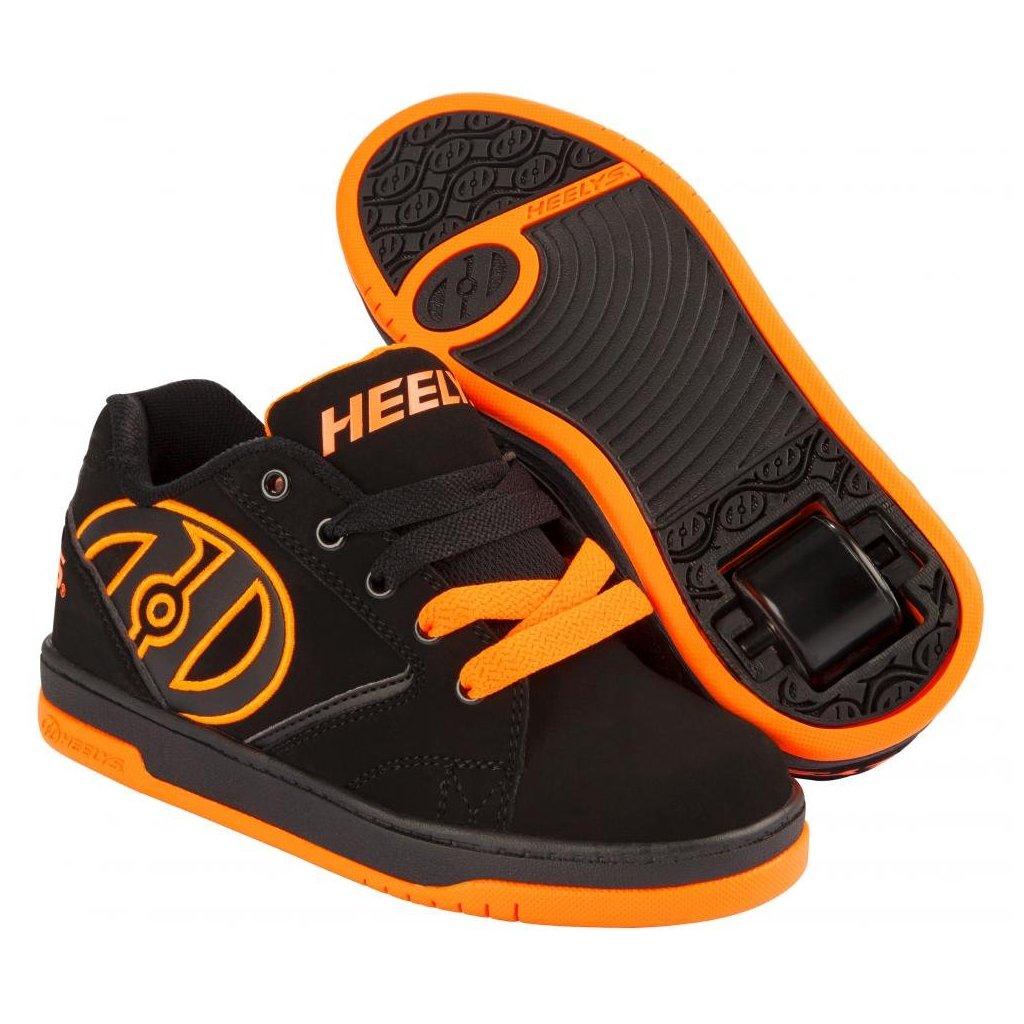 Heelys - Propel 2.0 Black/Orange - koloboty