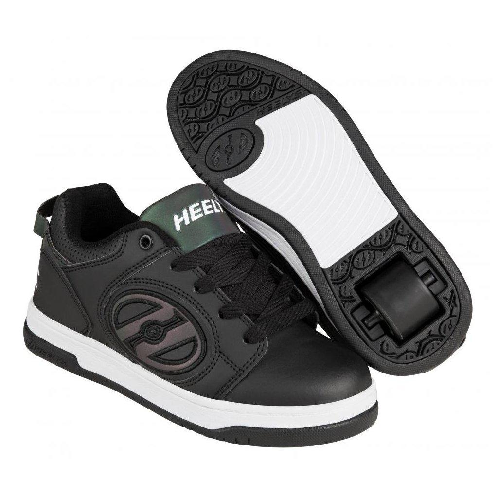 Heelys - Voyager Black Reflective/Black - koloboty