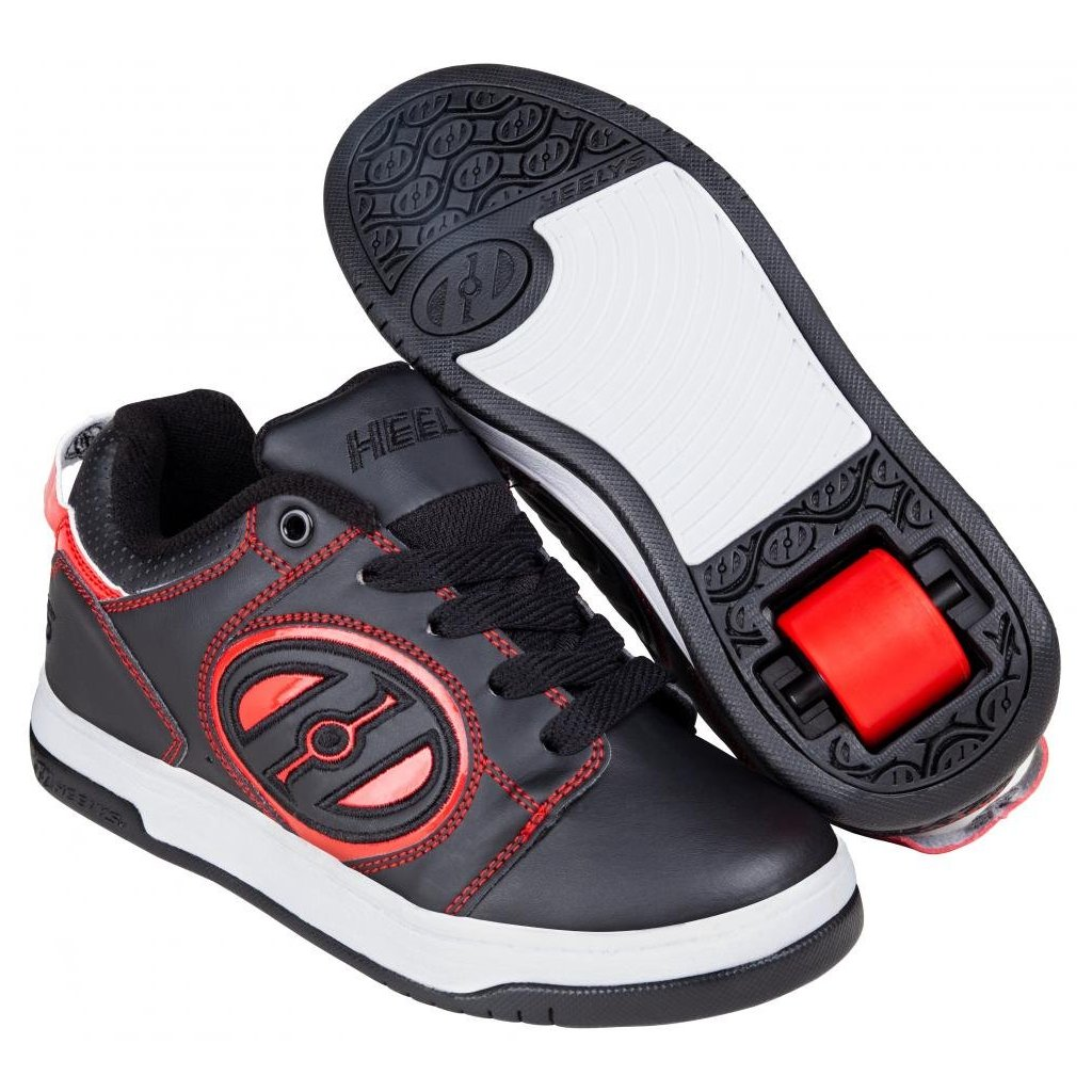 Heelys - Voyager Black/Red - koloboty