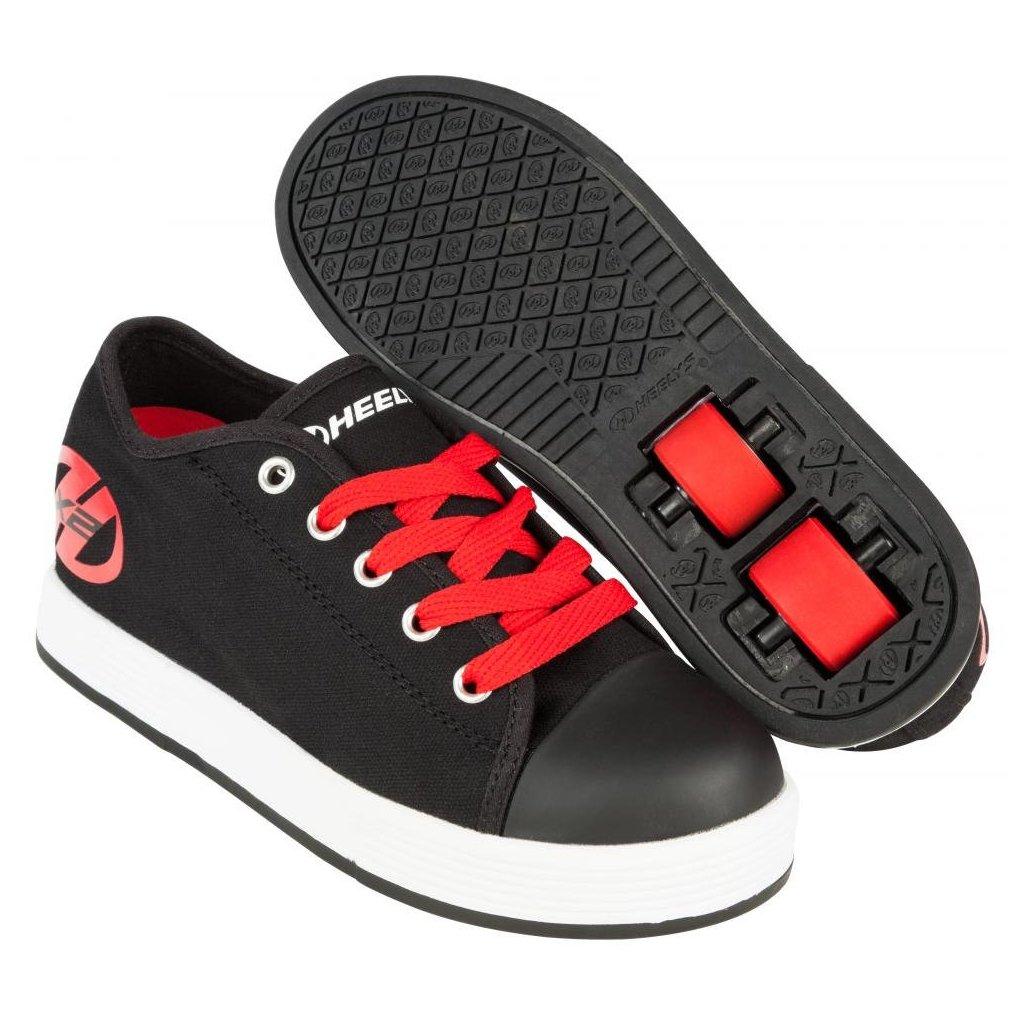 Heelys - X2 Fresh Black/Red - koloboty