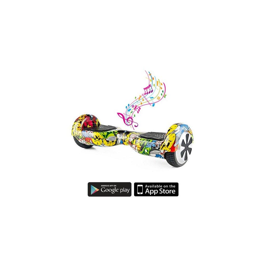 Kolonožka - Standard Bluetooth APP - Graffiti
