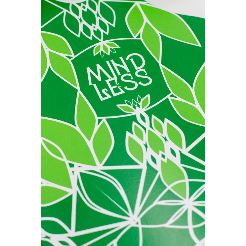 """Mindless - Sanke DT 39"""" V3 - Green longboard"""