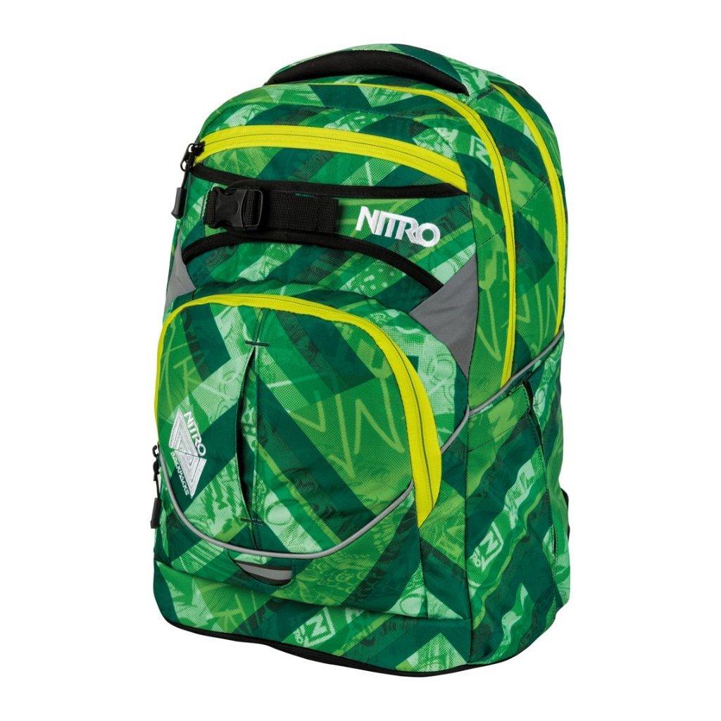 Nitro - Superhero - Wicked Green - Batoh 30l