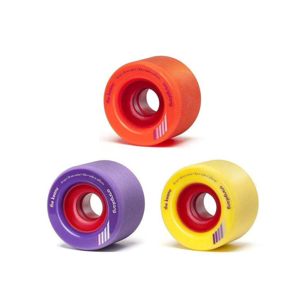 Orangatang - Keanu Wheels 66 mm 80a/83a/86a (sada 4 ks)