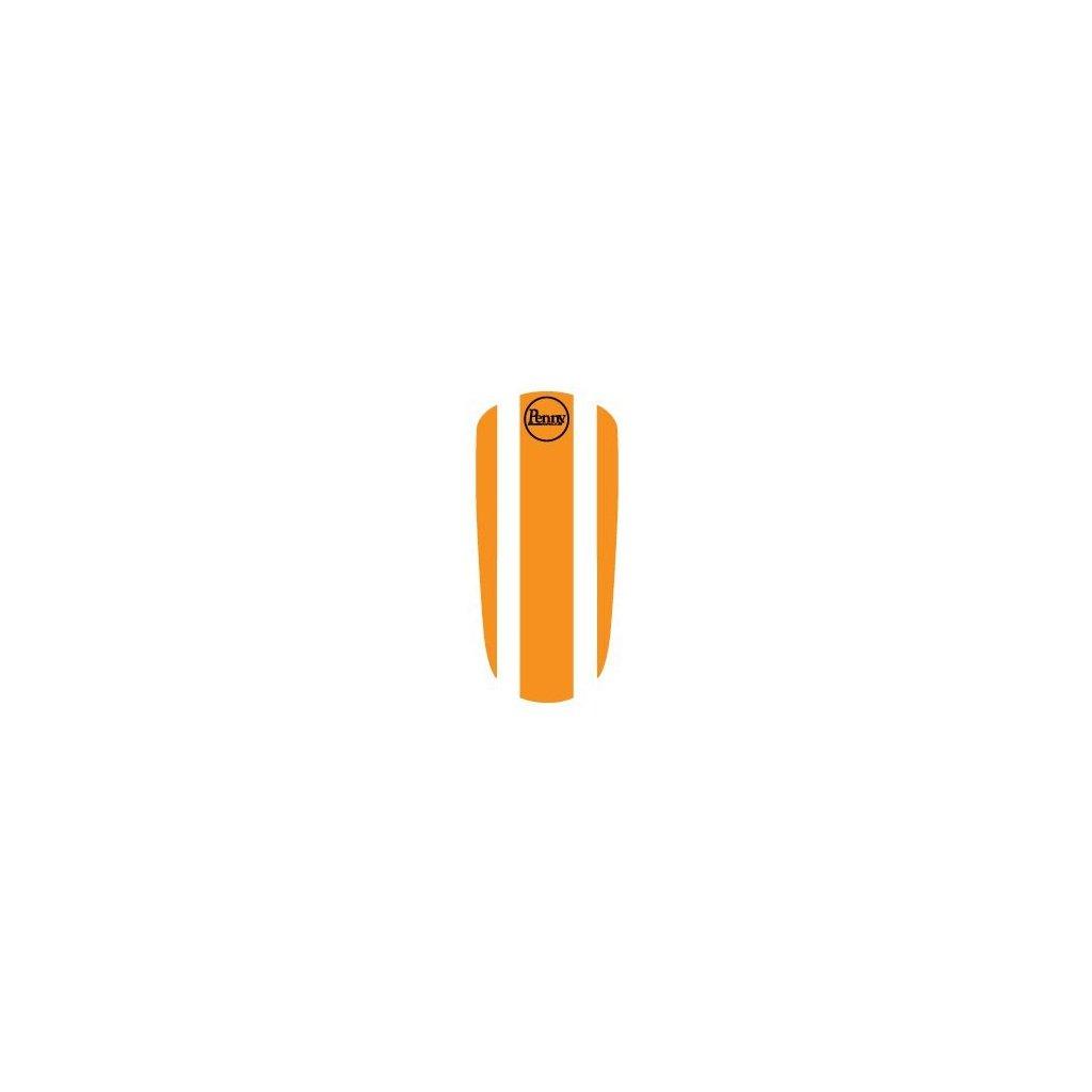 "Penny Panel Sticker 22"" - Orange"