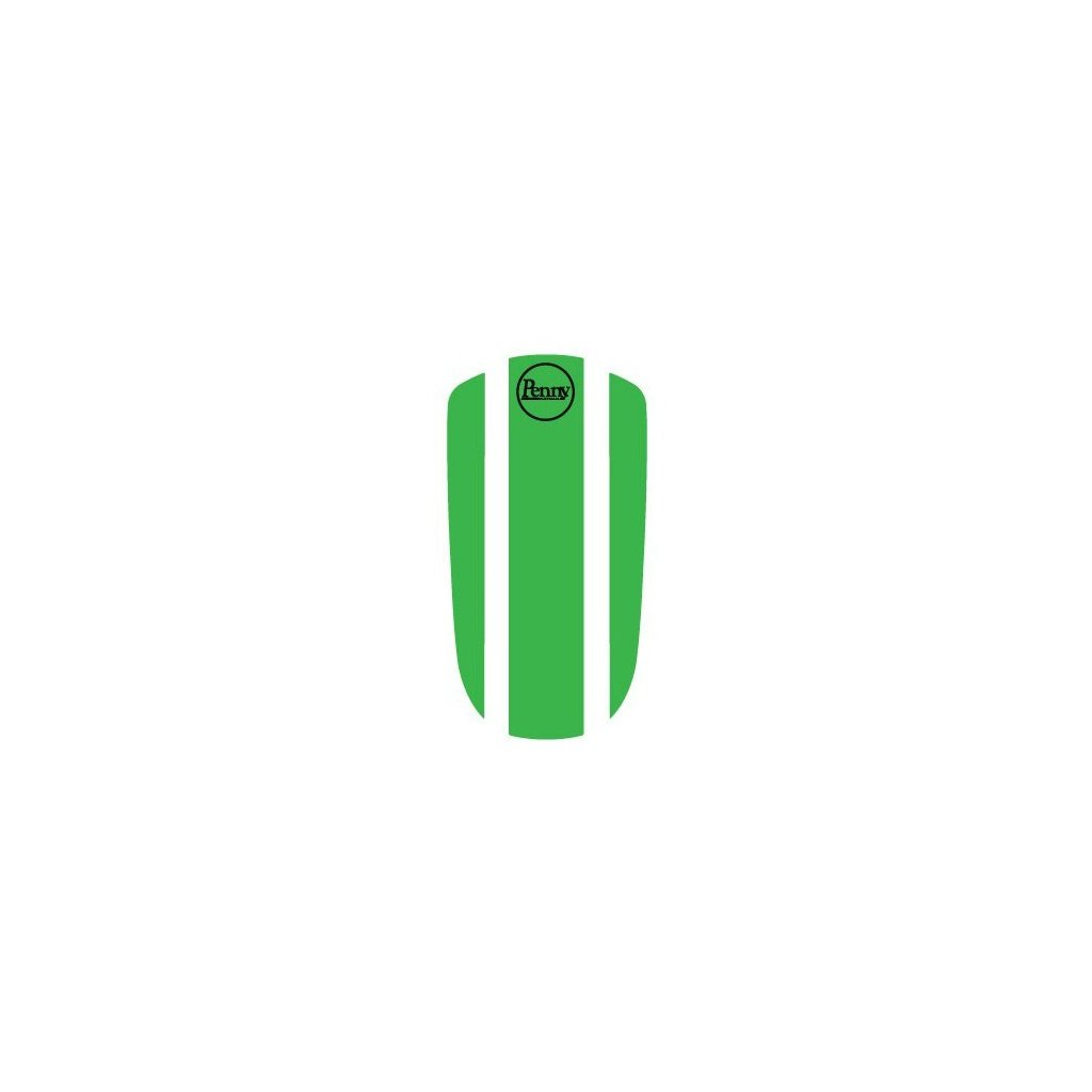 "Penny Panel Sticker 27"" - Green"