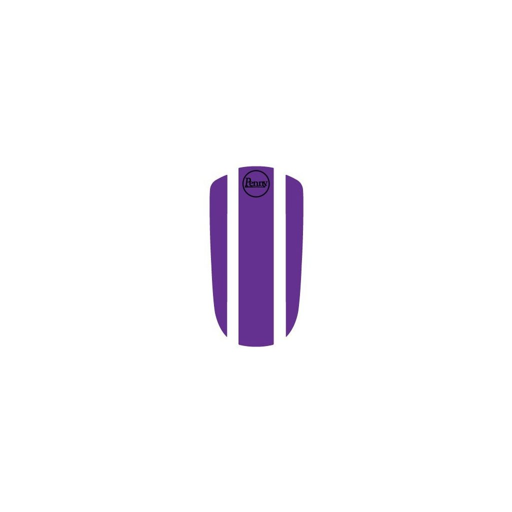 "Penny Panel Sticker 27"" - Purple"
