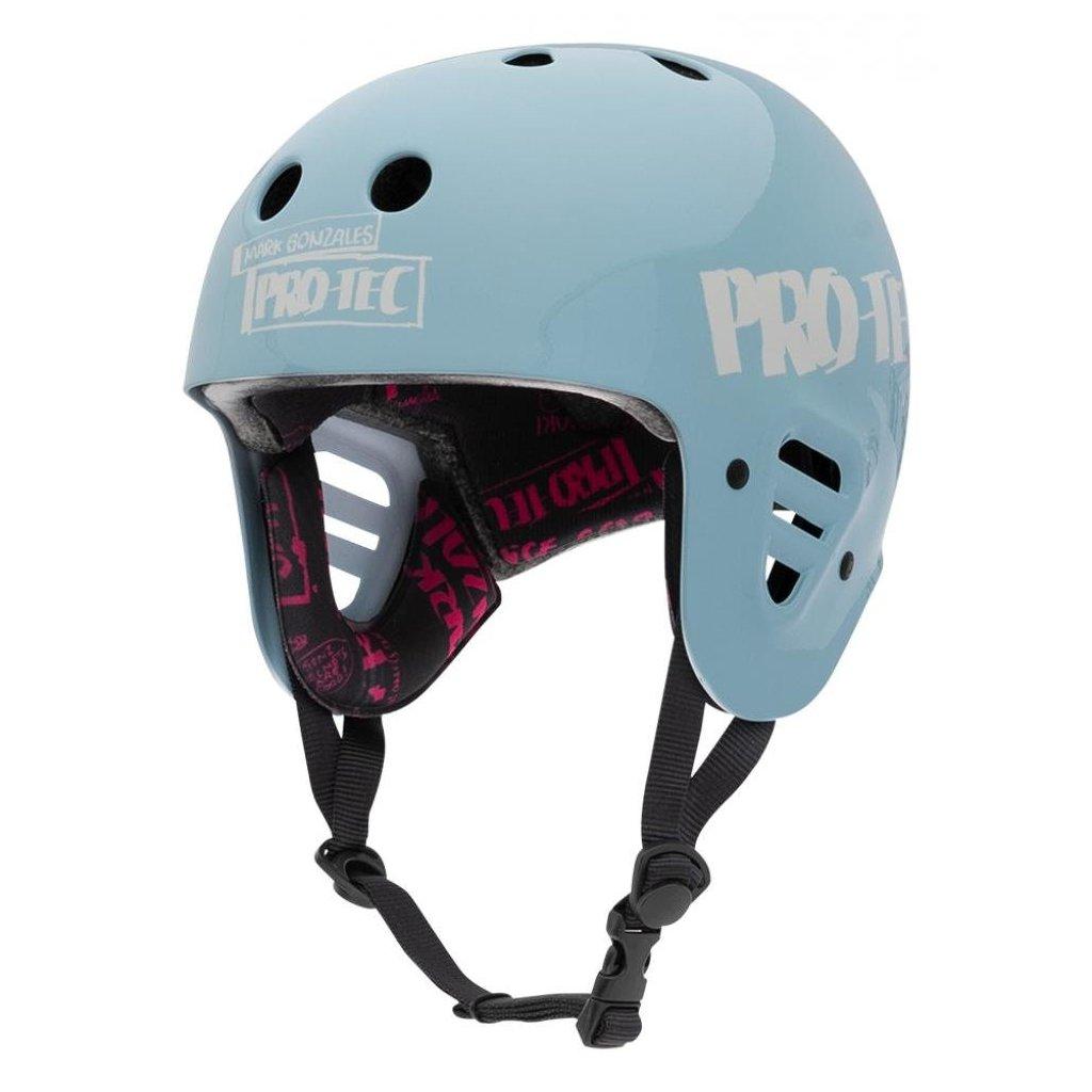 Pro-Tec - Full Cut Cert Gonz Light Blue - helma