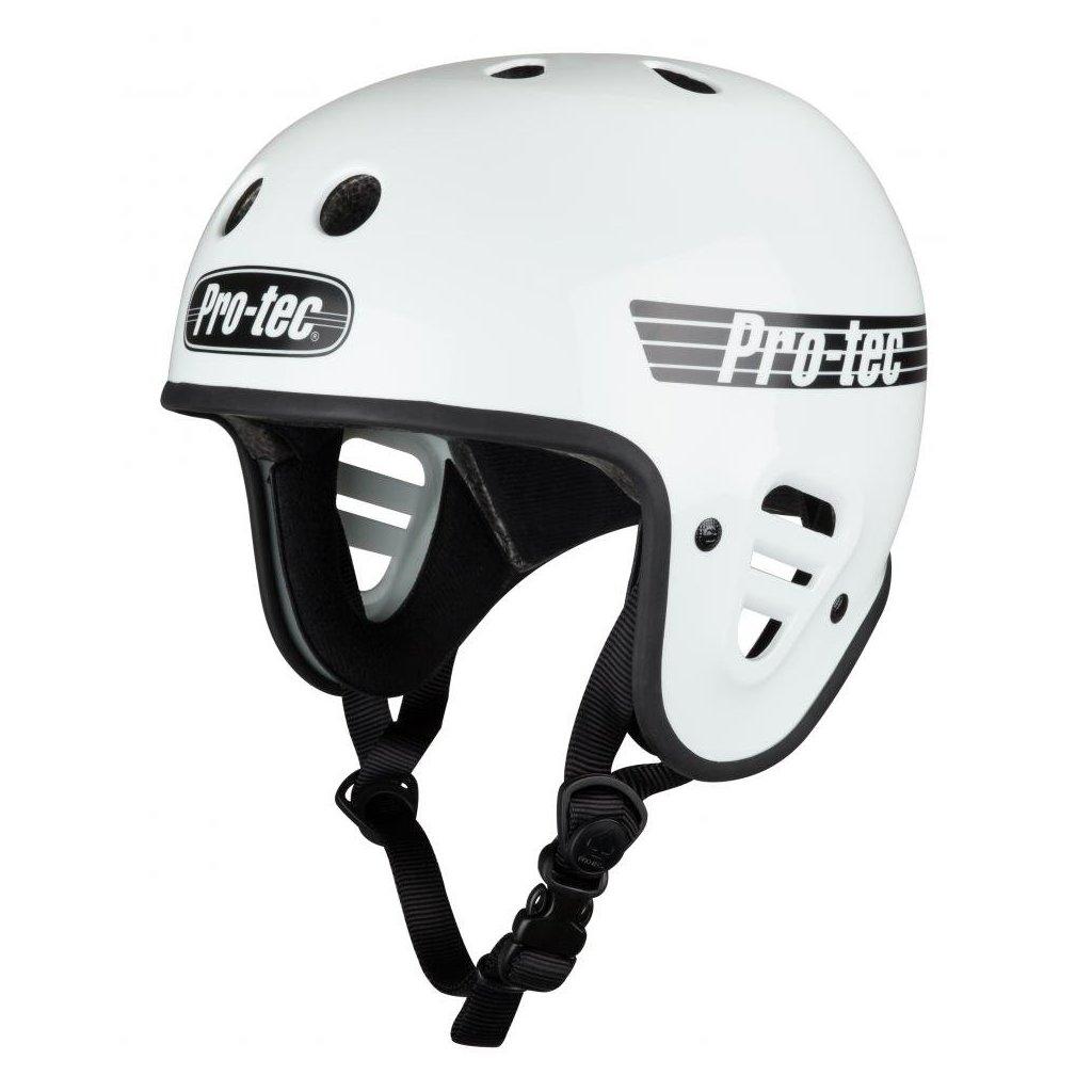 Pro-Tec - FullCut Certified Gloss White - helma