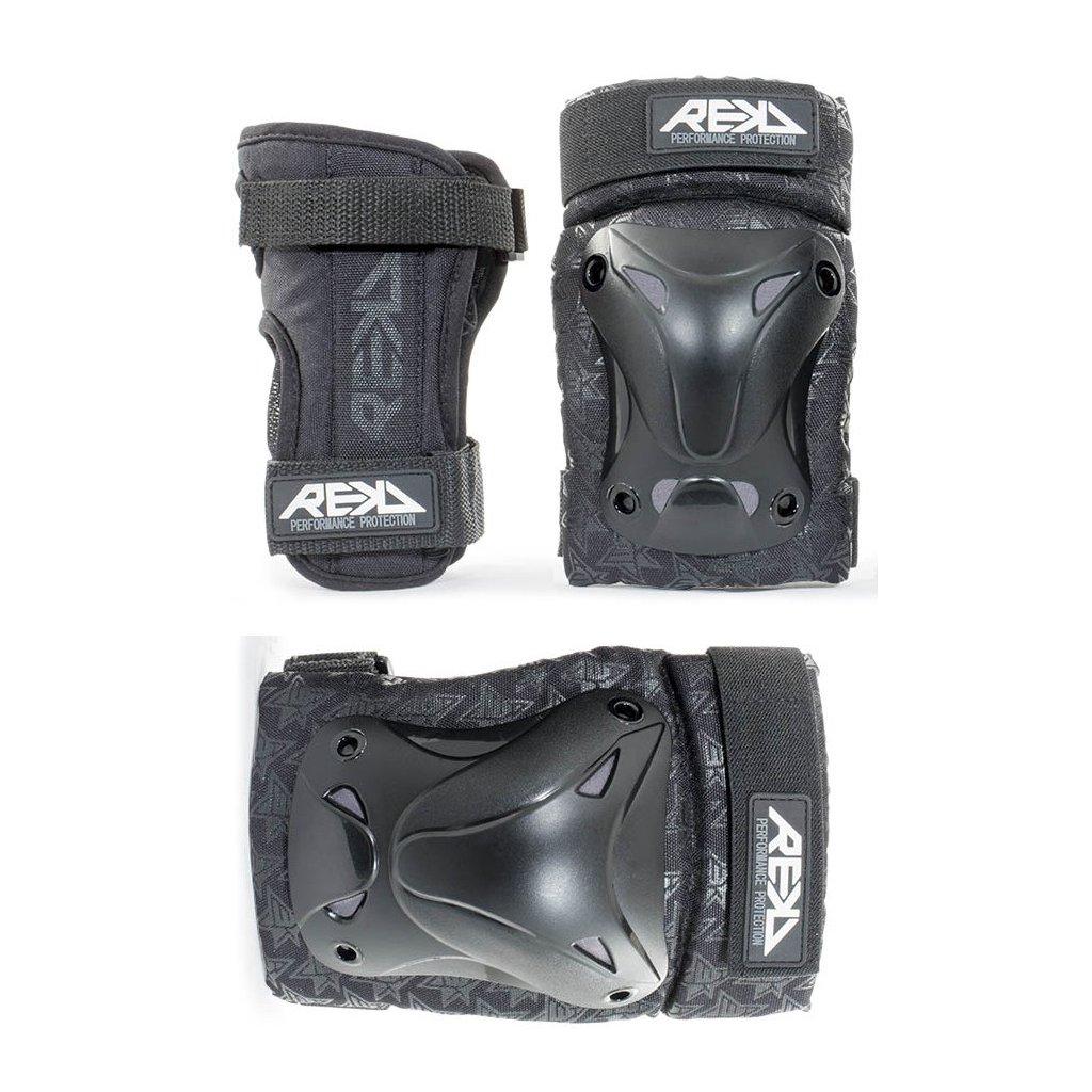 Rekd - Recreational Triple Pad Set - Black