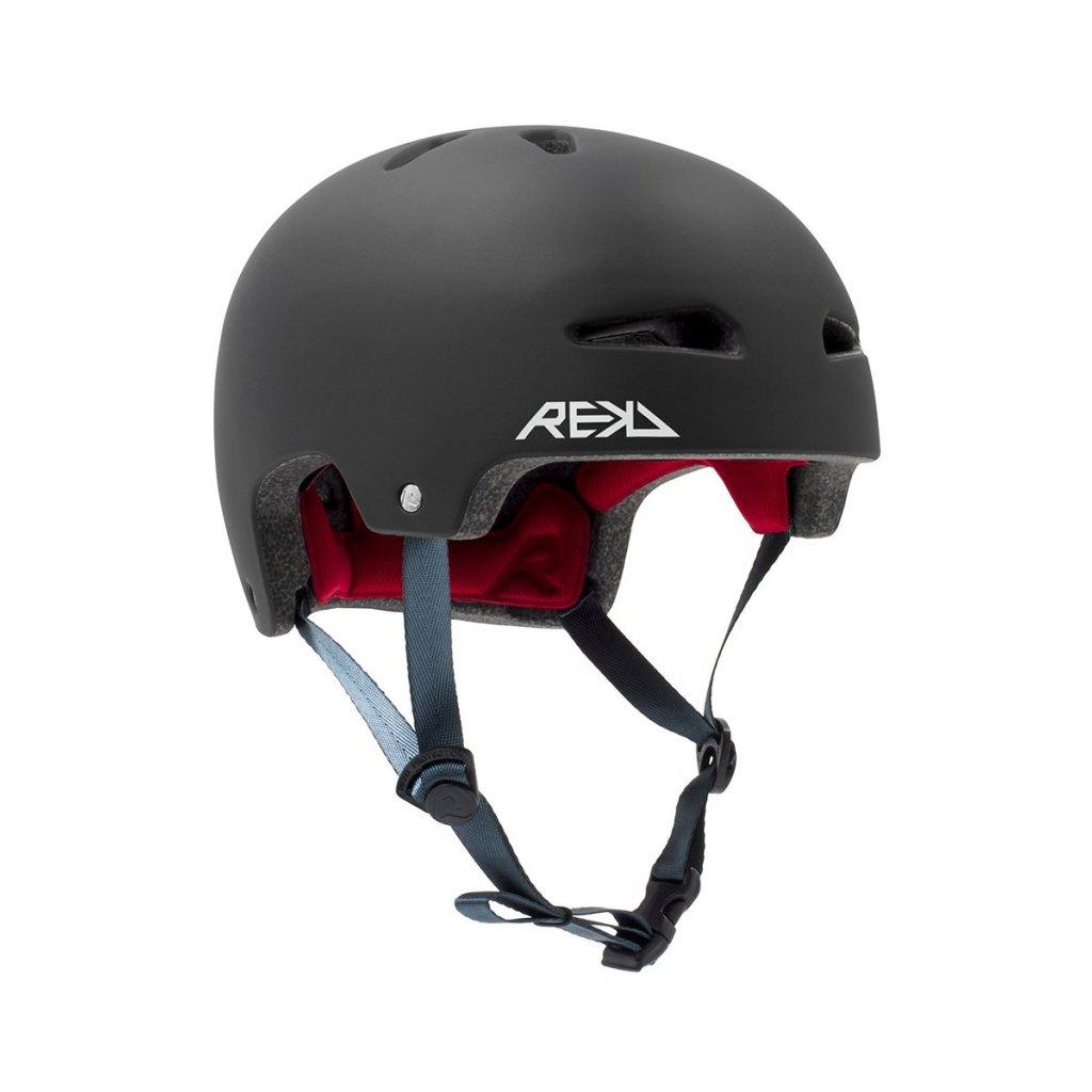 Rekd - Ultralite In-Mold Black - helma