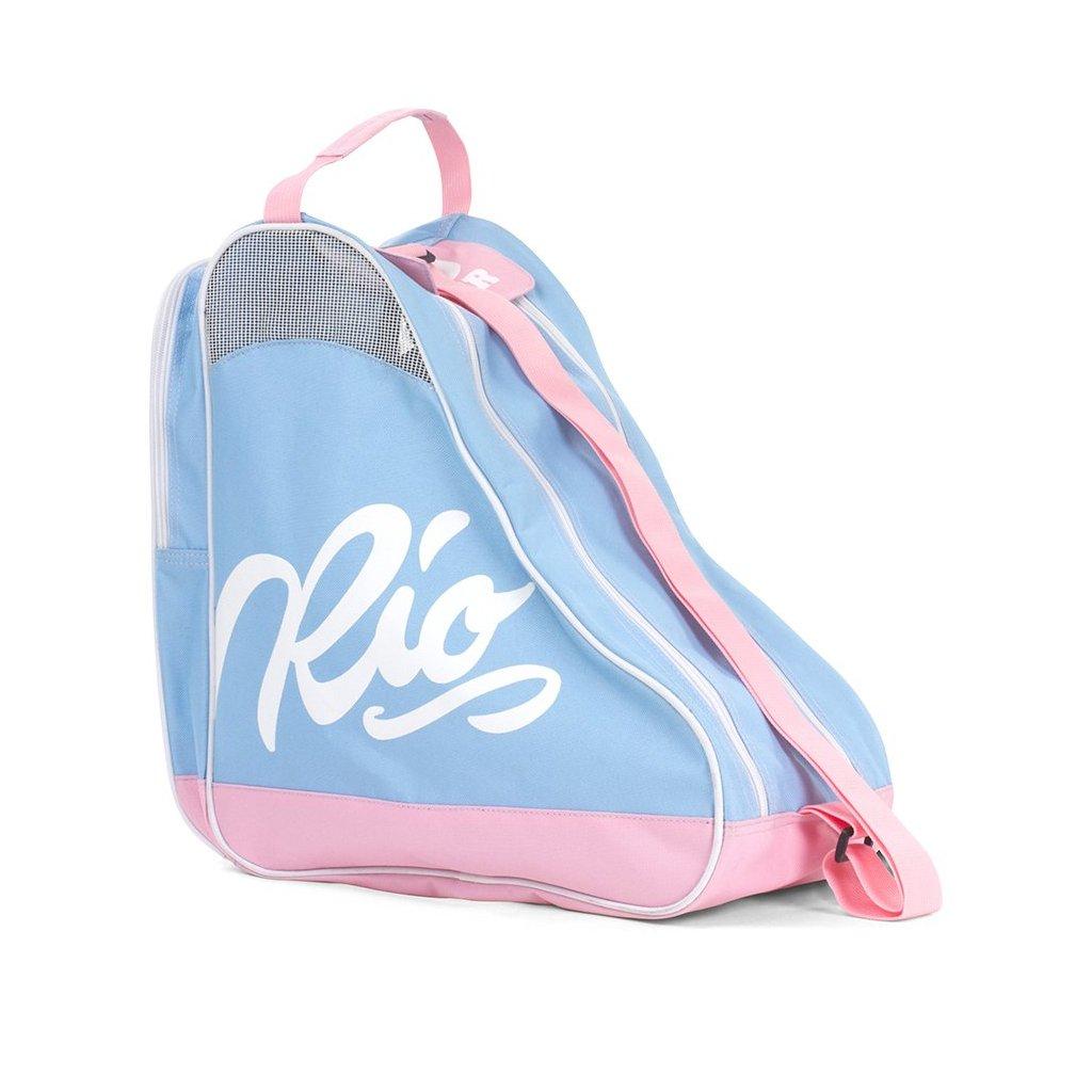 Rio - Roller Script Bag Blue/Pink