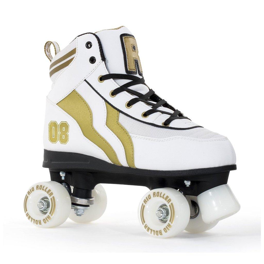 Rio - Roller Varsity White - trekové brusle