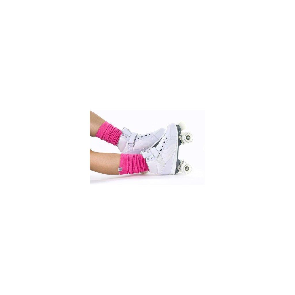 Rio - Soft Pink Leg warmers - návleky na brusle