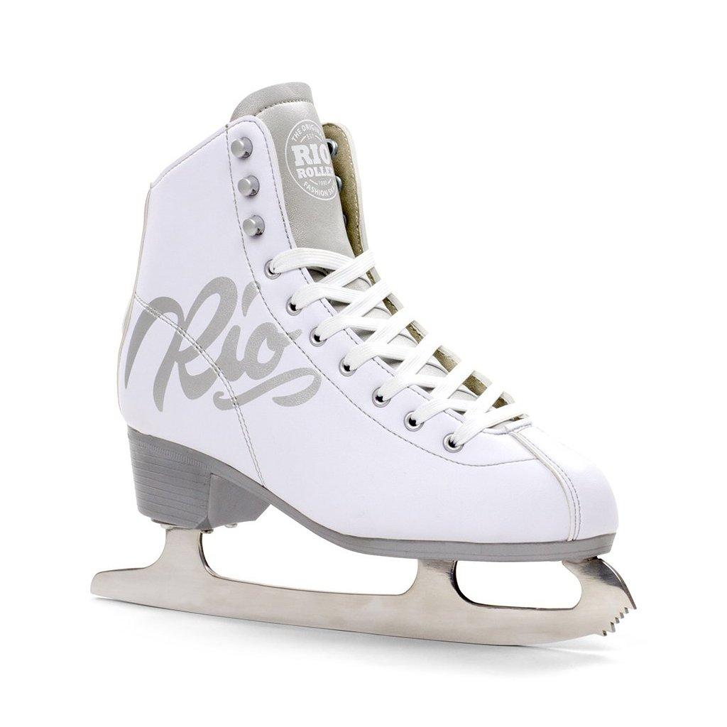 Rio Roller - Script White - lední brusle