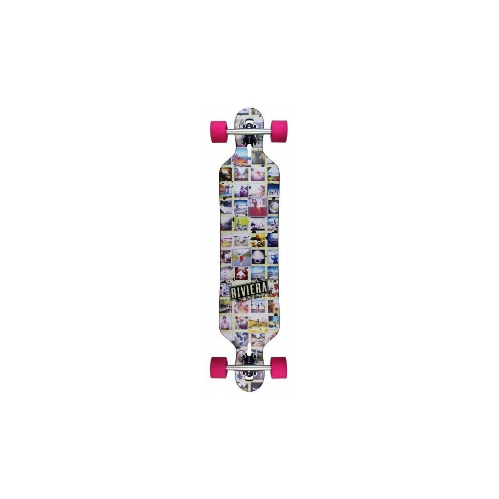 """Riviera - Mosaic DT 41"""" longboard"""
