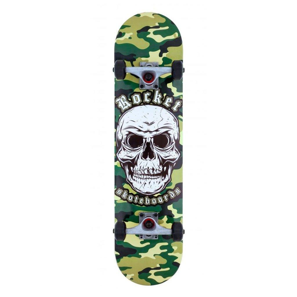 """Rocket - Combat Skull 7.75"""" - skateboard"""