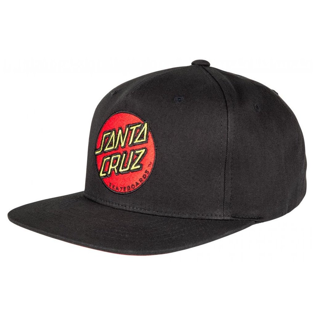 Santa Cruz - Cap Classic Dot - Black - Pánská čepice