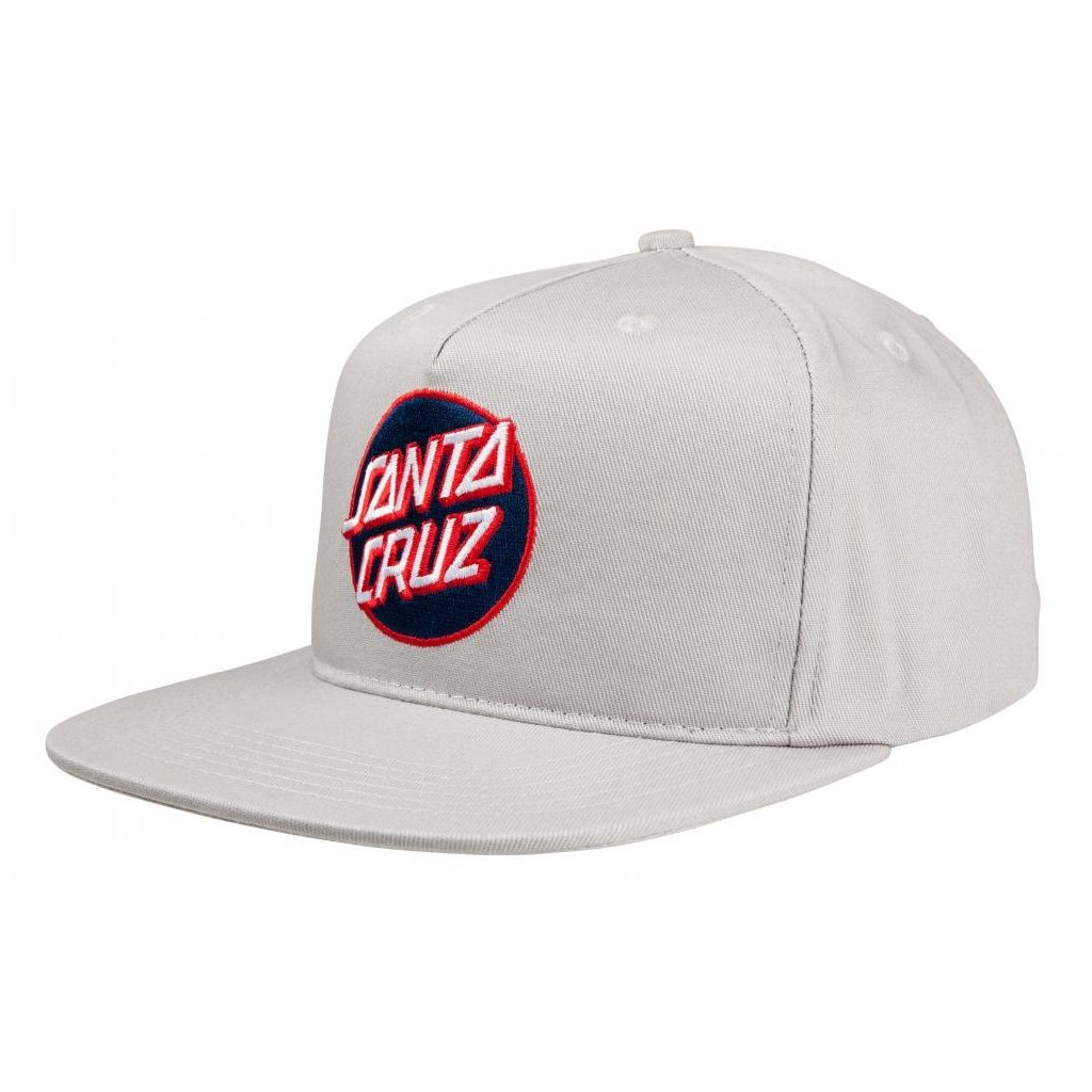 Santa Cruz - Dot Cap - Charcoal - Pánská čepice