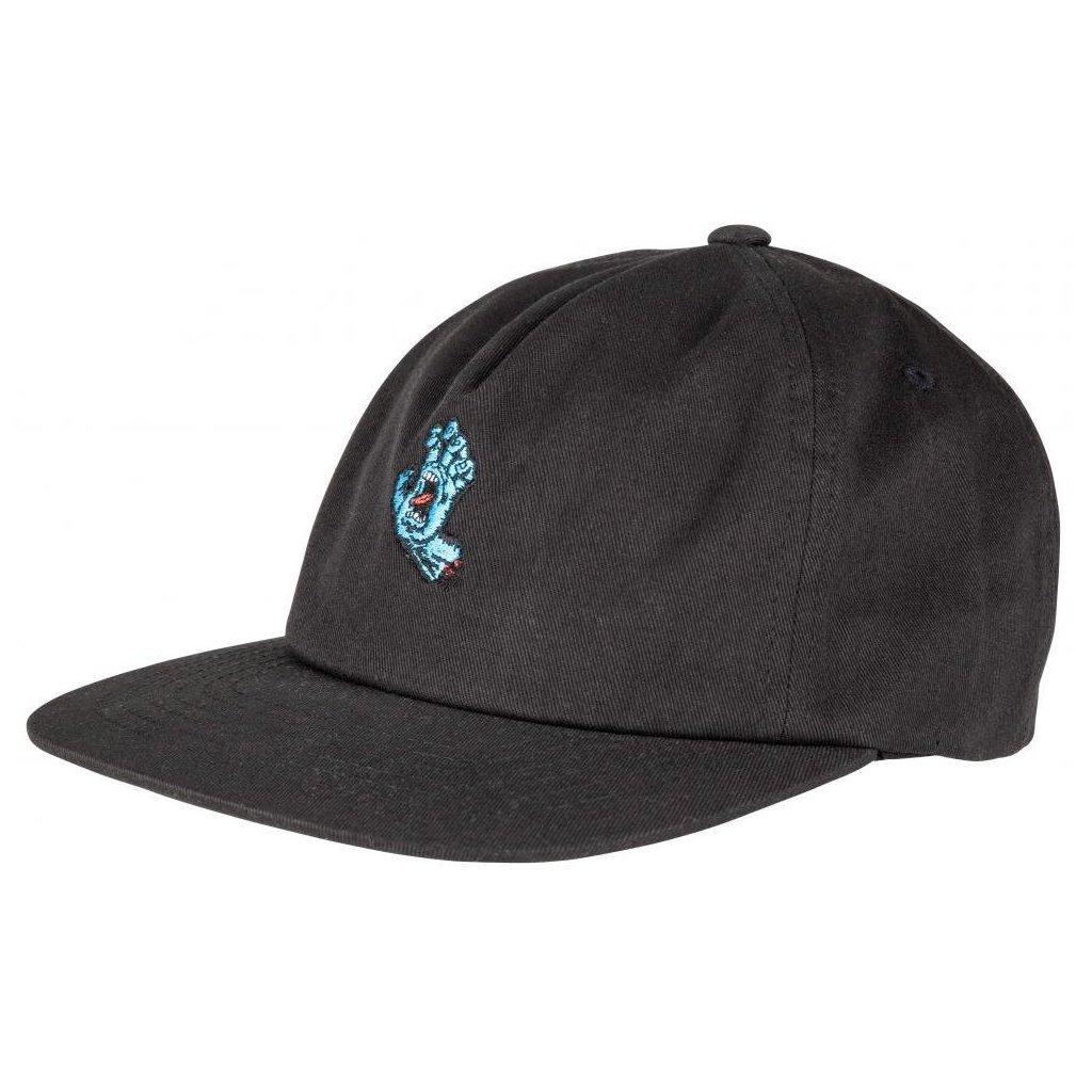 Santa Cruz - Screaming Mini Hand - Black - Pánská čepice