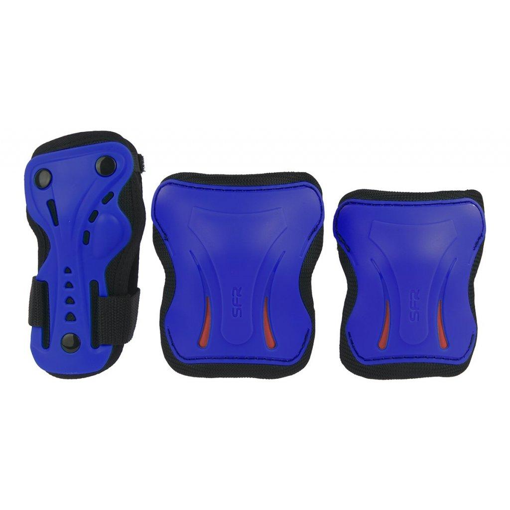 SFR - Dětská Sada chráničů Essential Blue Triple Pad Set