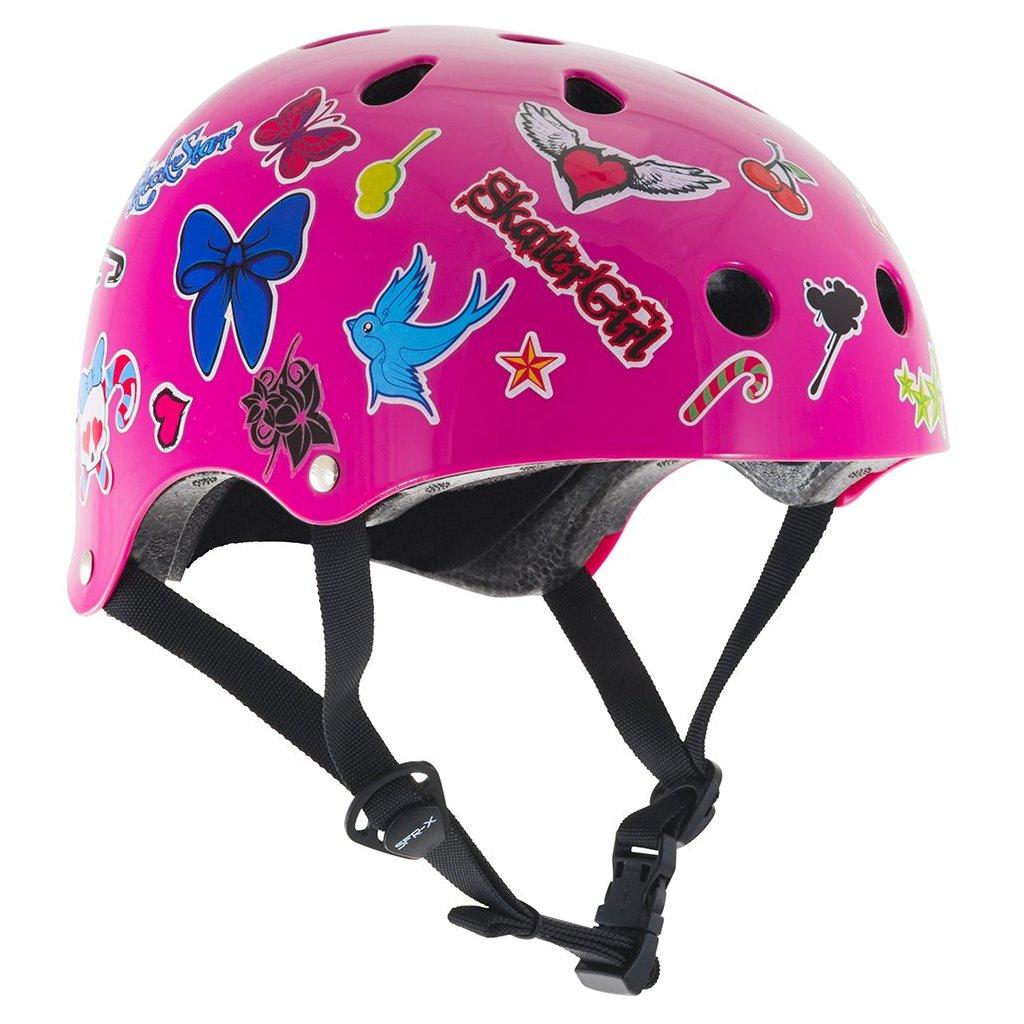 SFR - Gloss Pink Sticker Essentials helma